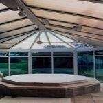 sunroom spa enclosure, passive solar hot tub enclosure, Colorado Springs Sunrooms